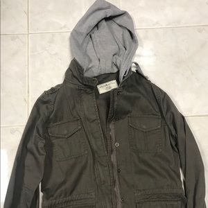 Sound and Matter utility jacket with hood Sz M